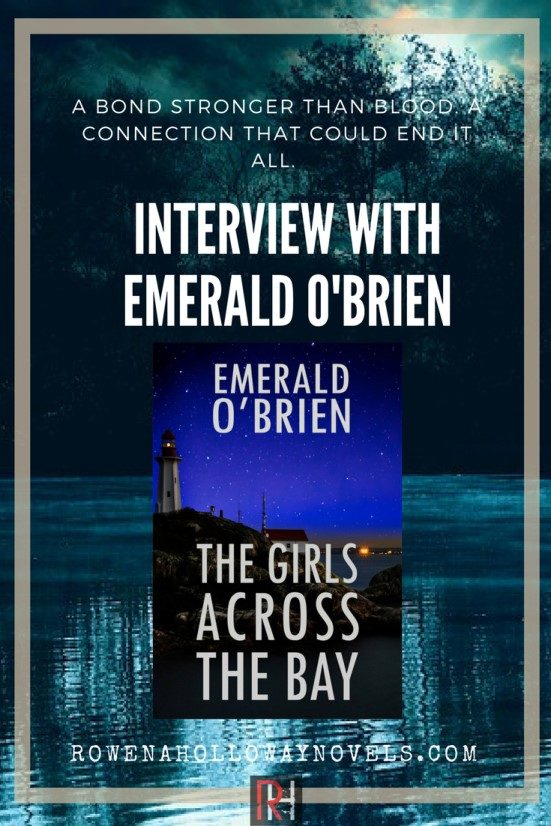 An interview with Canadian suspense writer Emerald O'Brien