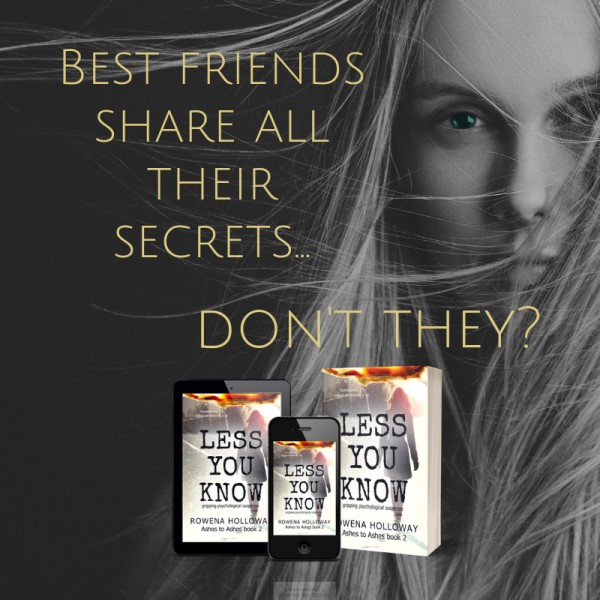 Less You Know: Besties and Secrets | Rowena Holloway Suspense
